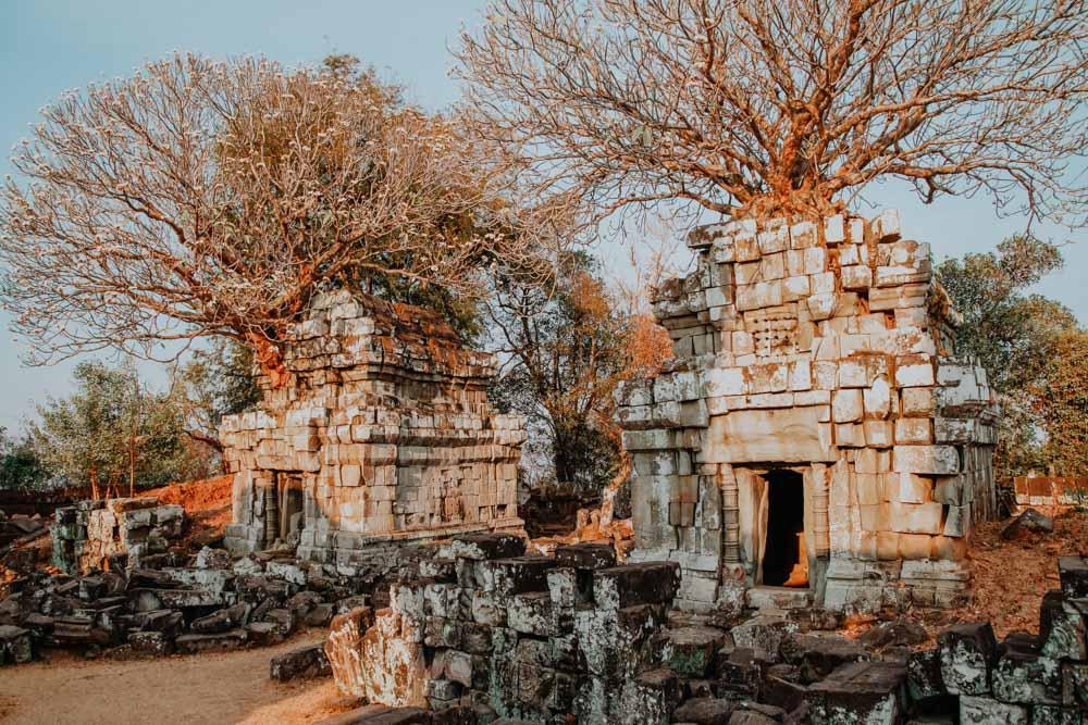 Sonnset in Angkor - Phnom Bok Temple