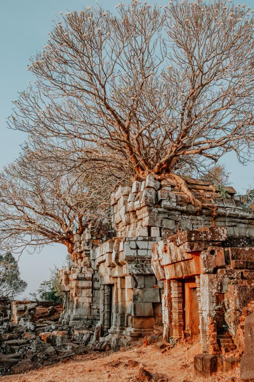 Sonnenuntergang in Angkor: Phnom Bok