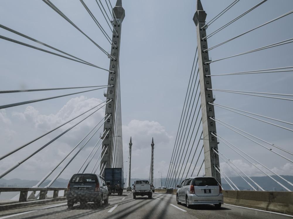 Brücke nach George Town