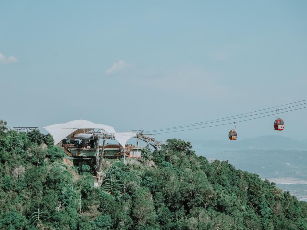 Cable Car auf Pulau Langkawi