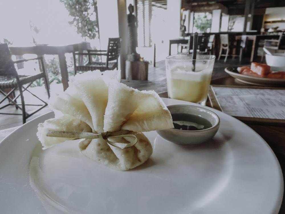 Crepes im Tamarind Restaurant im Japamala Resort