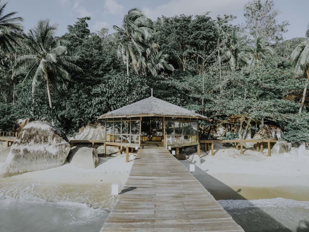 Lobby des Japamala Resorts