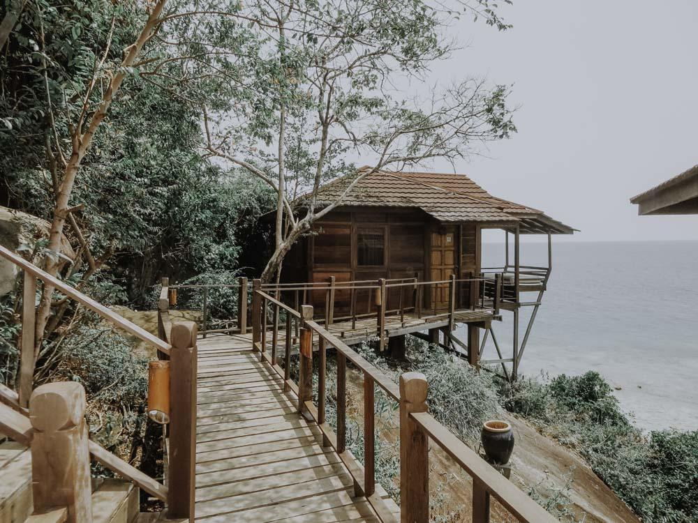 Sarang im Japamala Resort auf Tioman Island in Malaysia