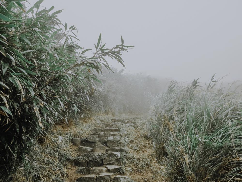 Qixingshan Hiking Trail in Taiwan