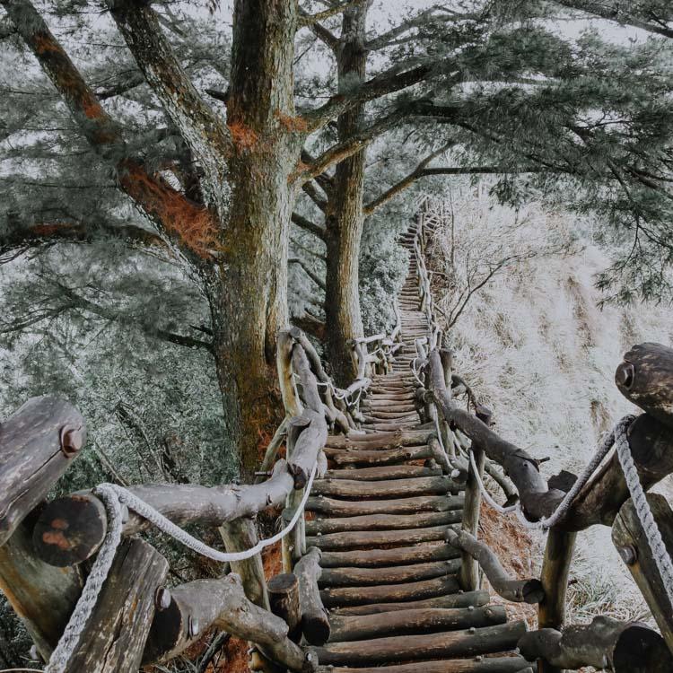 Hiking Trails in Taiwan