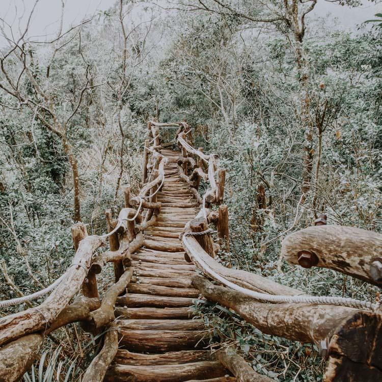 Wanderwege in der Dakeng Scenic Area