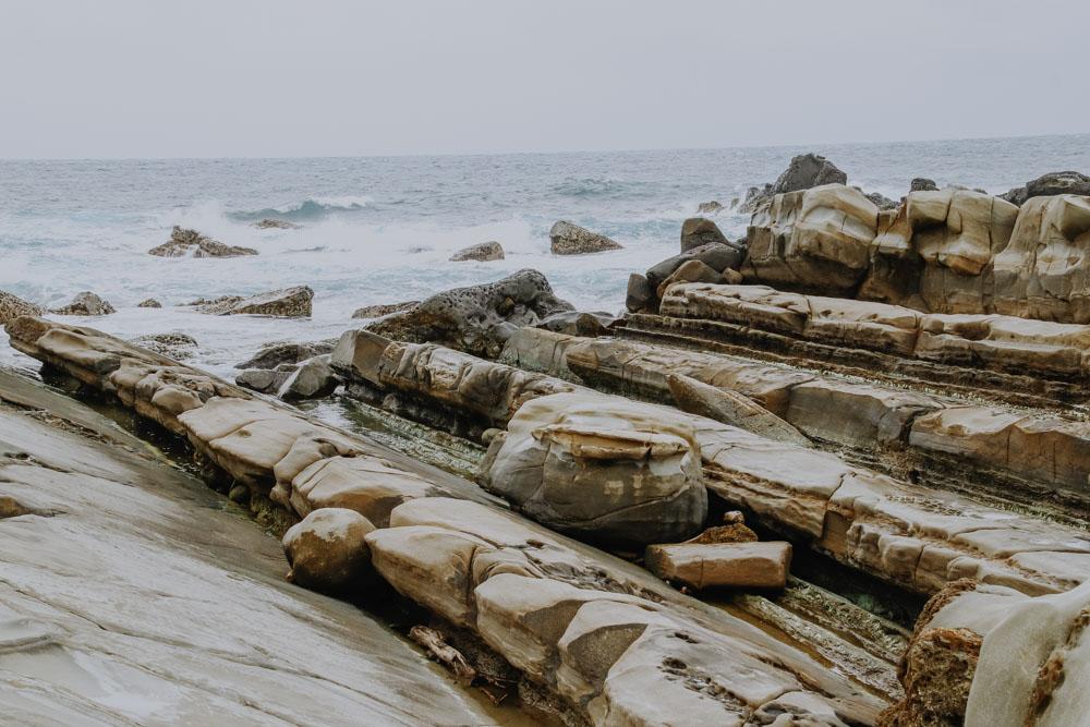 Tofu Rocks in Xiaoyeliu