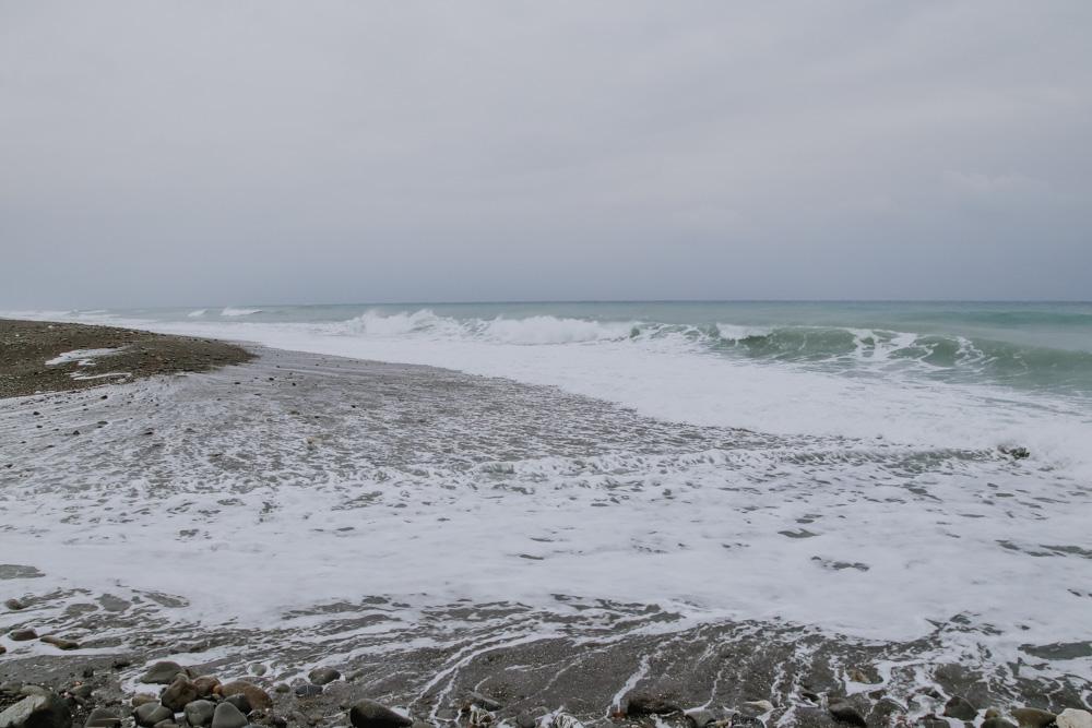 Strand an der taiwanesischen Ostküste