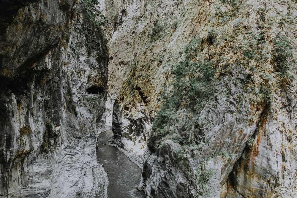 Liwu River in der Taroko Schlucht