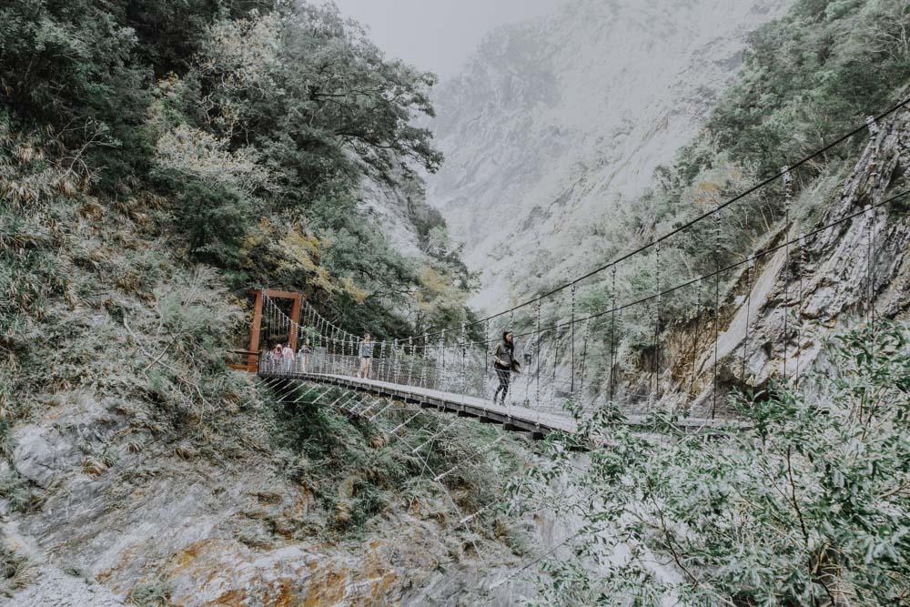 Taroko Schucht Taiwan - Baiyan Waterfall