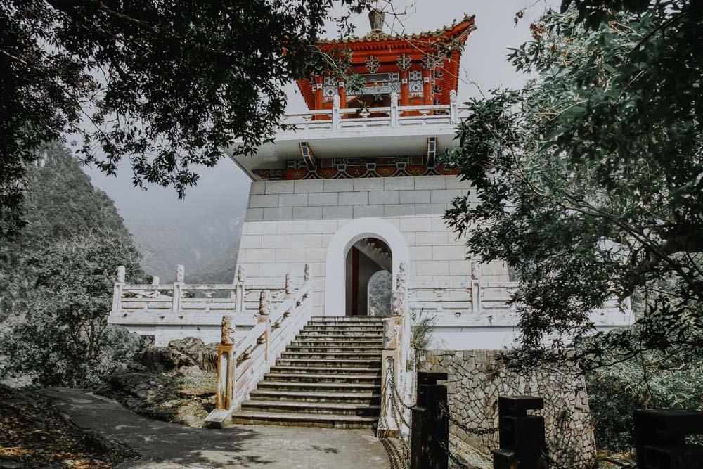 Bell Tower am Eternal Spring Shrine Trail