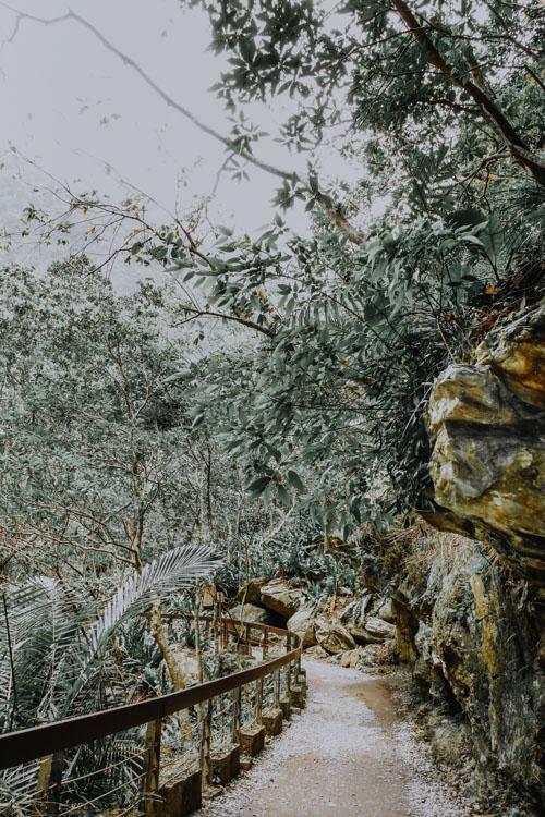 Shakadang Trail in der Taroko Schlucht