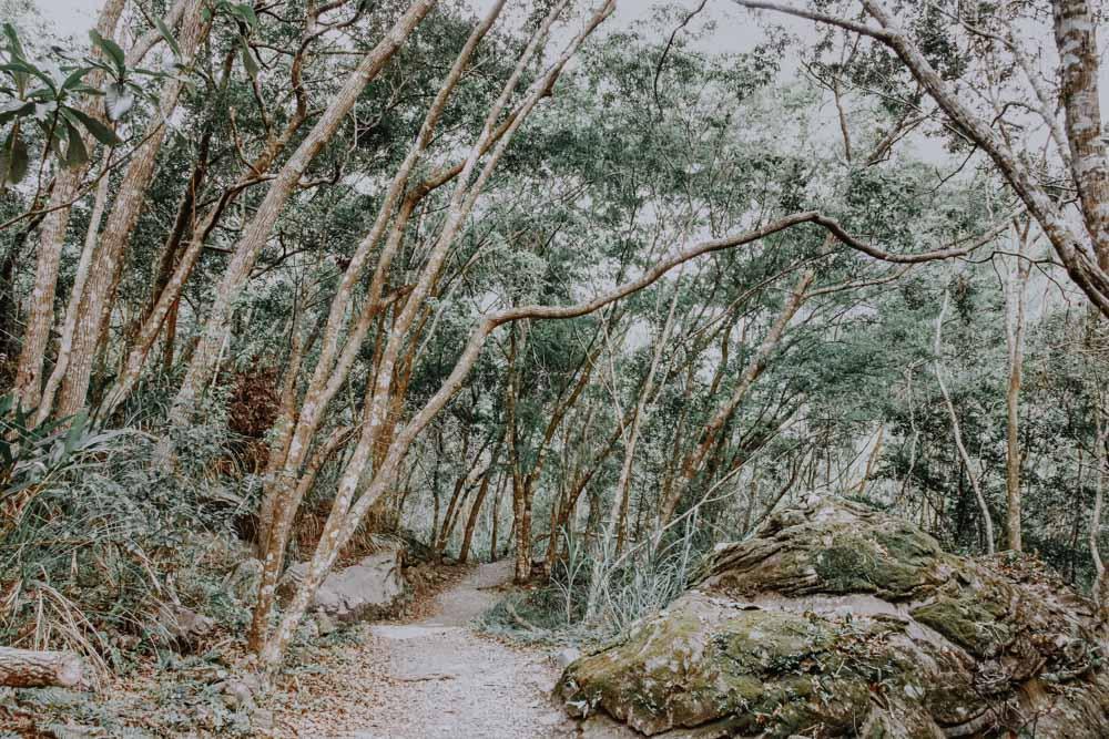 Lüshui Trail in Taiwan
