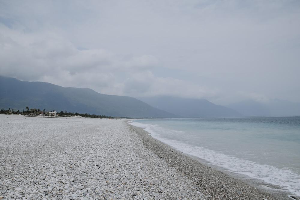 Qixing Lake an der taiwanesischen Ostküste