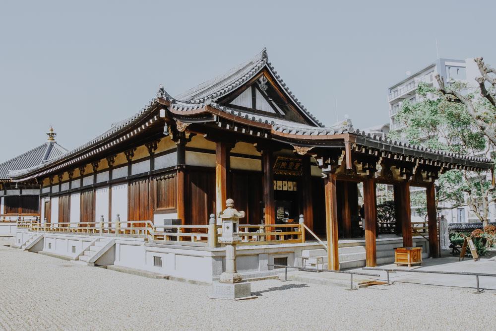 Die schönsten Sehenswürdigkeiten in Osaka: Shitennō-ji Tempel