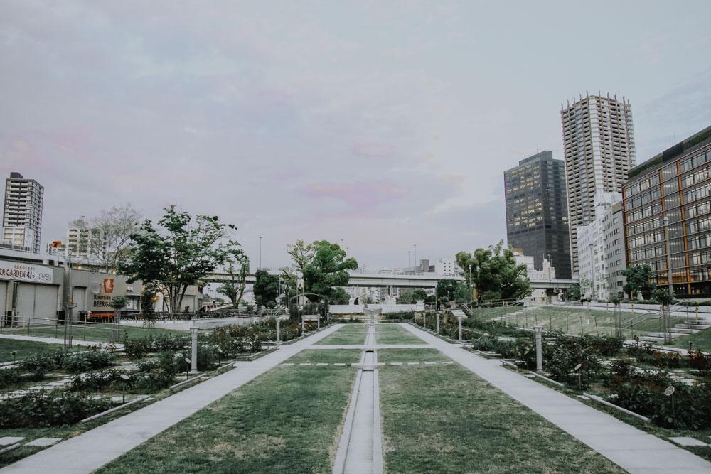 Nakanoshima Park in Osaka