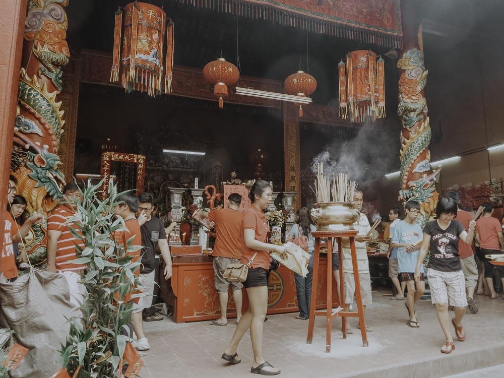 Kuala Lumpur Guan Di Tempel