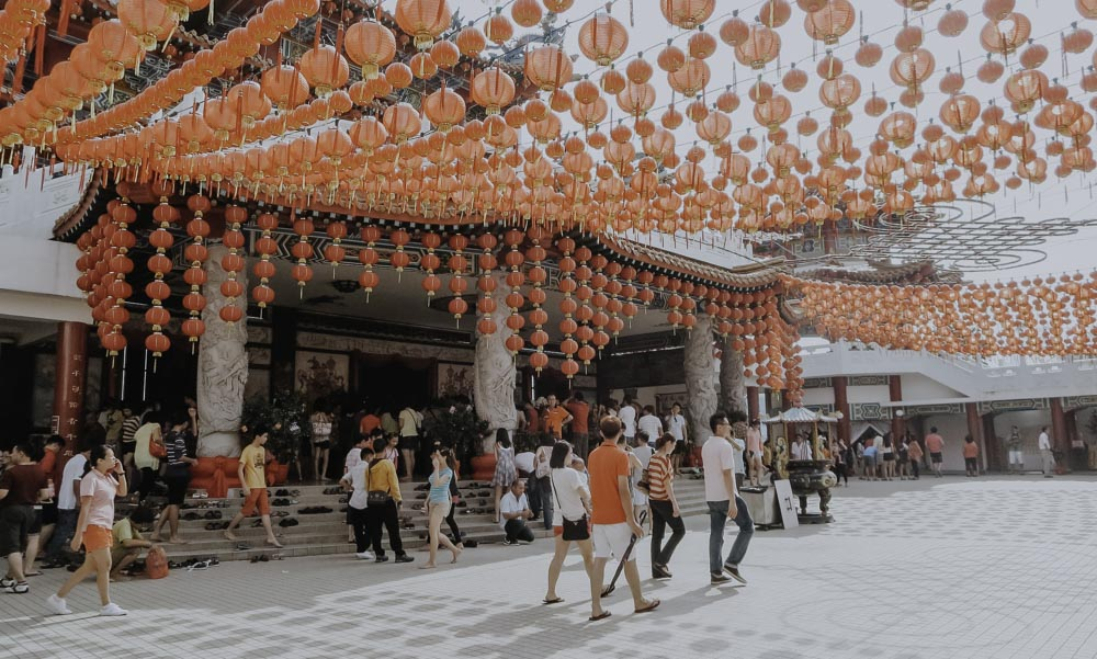 Thean Hou Tempel in Malaysia