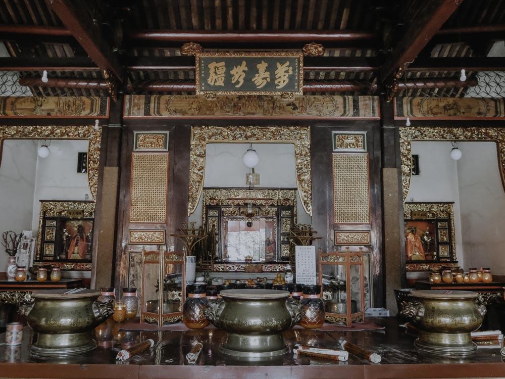 Penangs schönste Tempel - Snake Temple