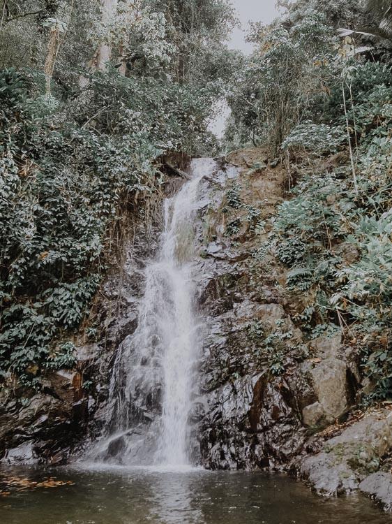 Durian Perangin Waterfall Malaysia