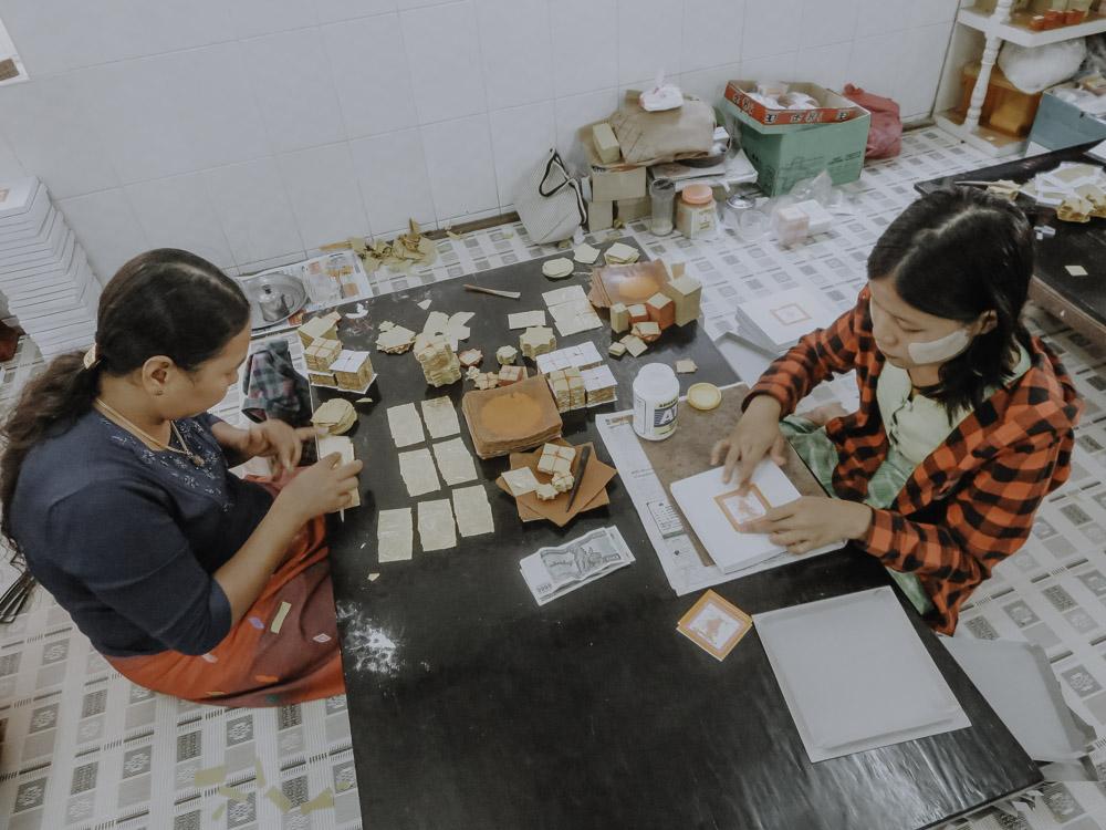 Goldschläger in Myanmar