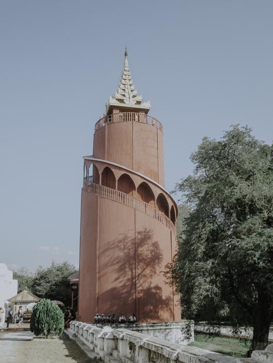 Nan Myin Wachturm im Mandalay Palace in Myanmar