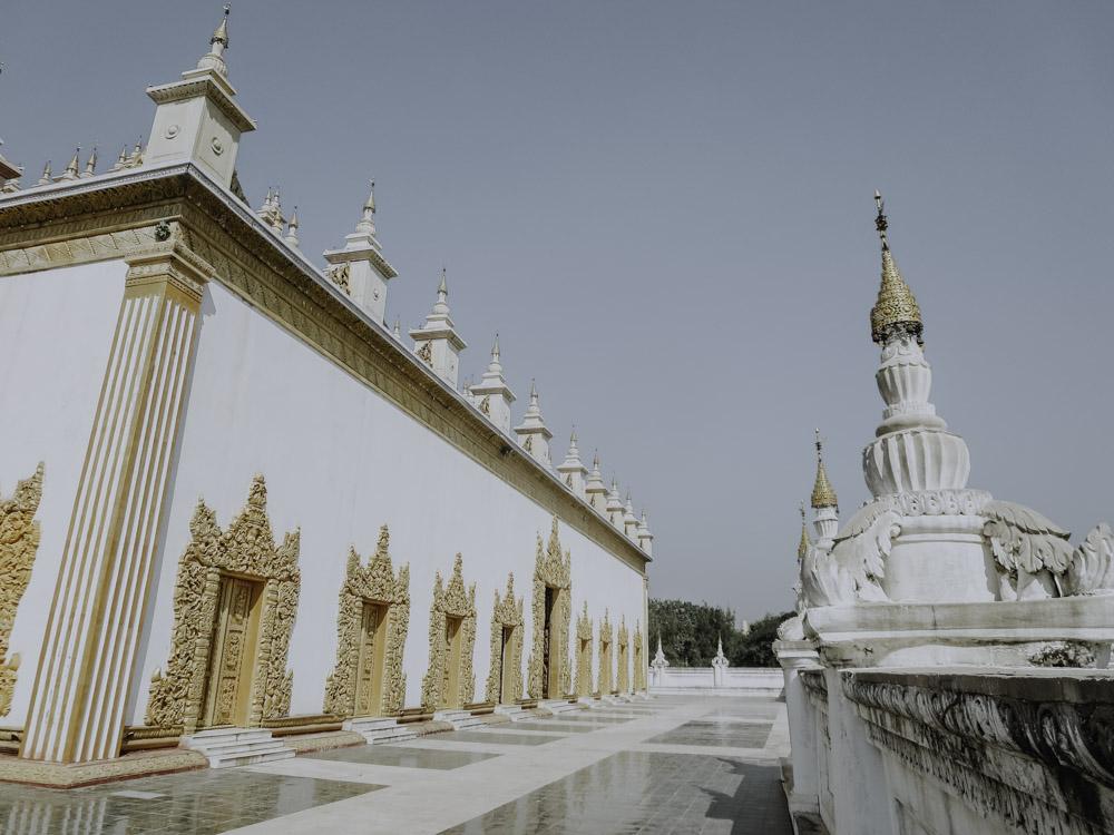 Mandalay - Die schönsten Sehenswürdigkeiten - Atumashi Monastery
