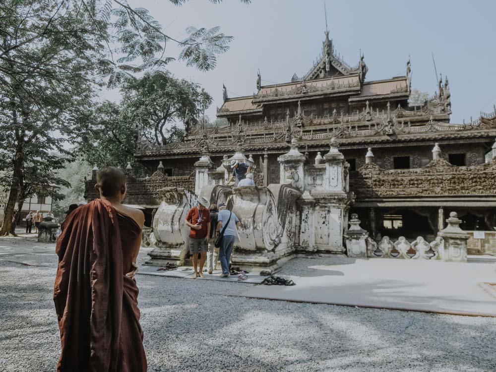 Shwenandaw Monastery in Myanmar