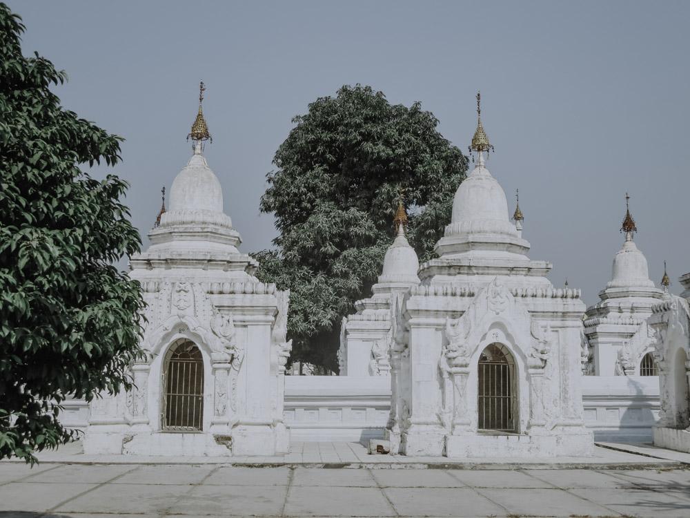 Kuthodaw Pagode in Mandalay Myanmar