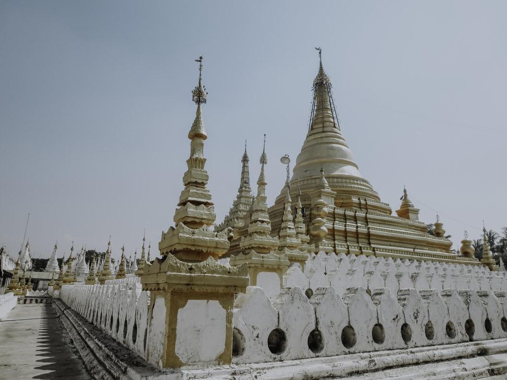 Kuthodaw Pagode in Myanmar