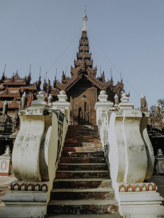 Shwe In Bin Monastery in Myanmar