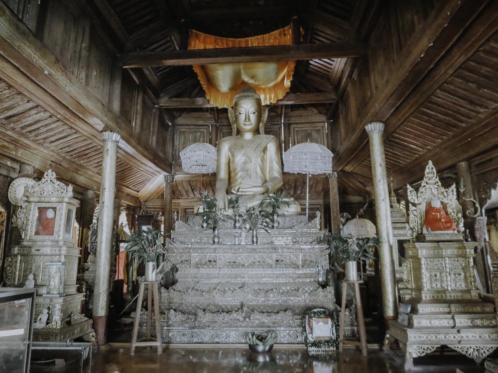 Inle Lake - Shwe Yan Pyay Monastery