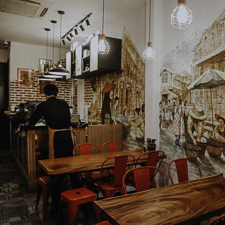 Themed Cafe Bankok -Black Bear Bake