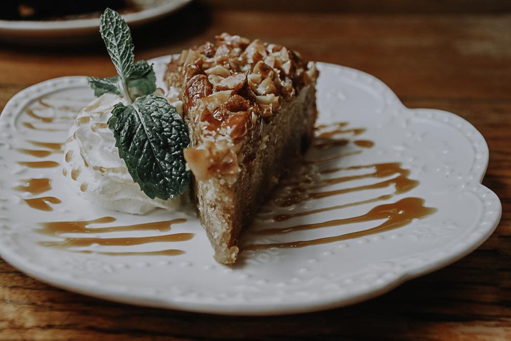 Kuchen im B-Story Cafe in Bangkok