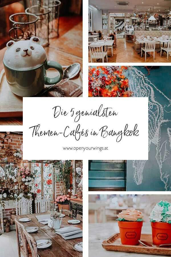 Pin it! Bangkok Themen Cafés