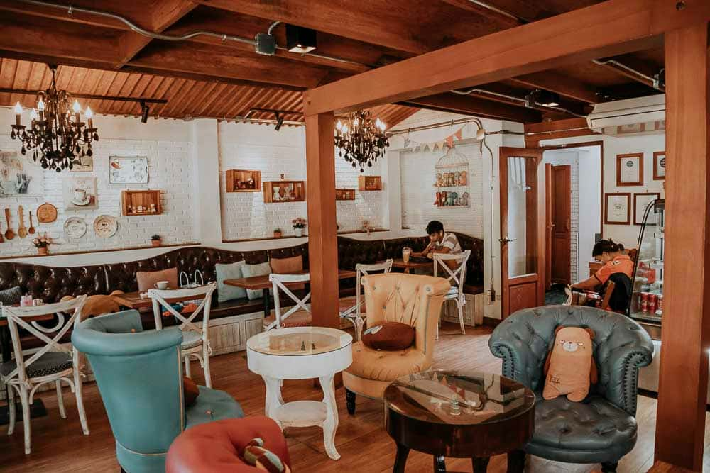Chang Mai Themen-Cafes