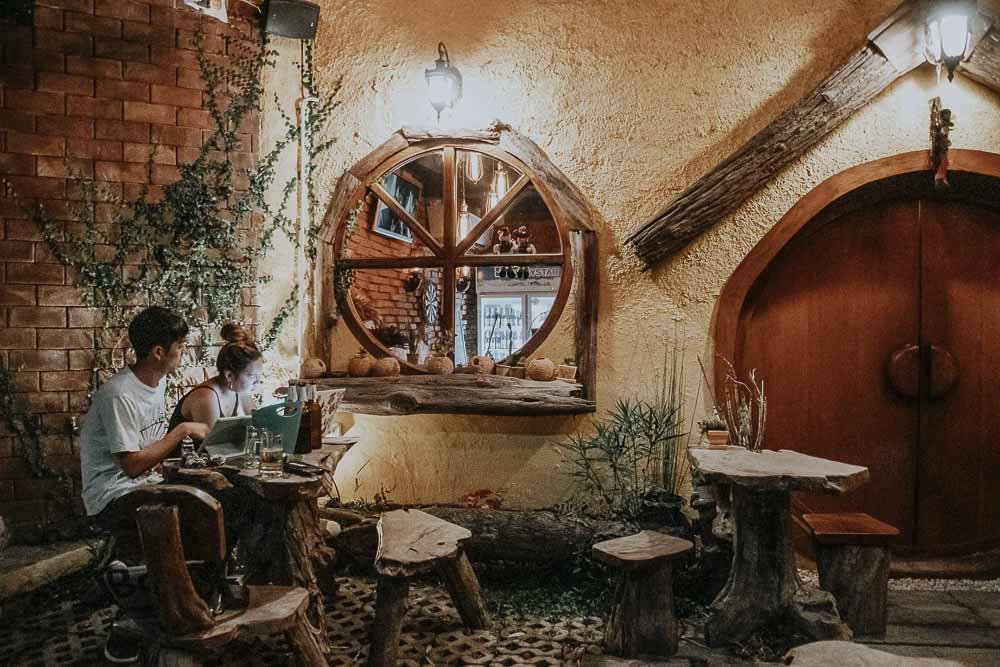 Außergewöhnliche Cafe-Bar in Chiang Mai