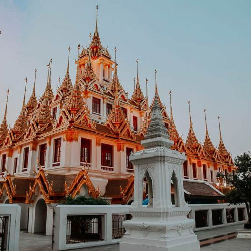 Loha Prasat - Bangkok bei Nacht