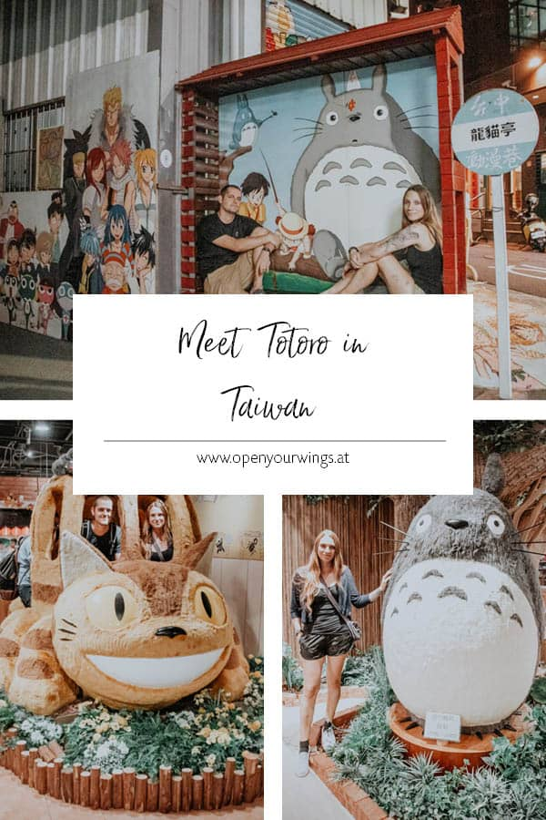 Pin it! Meet Totoro in Taiwan