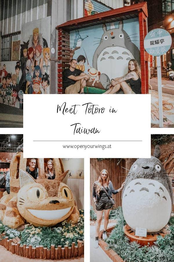 Pin it! Meet Totoro in Taiwan