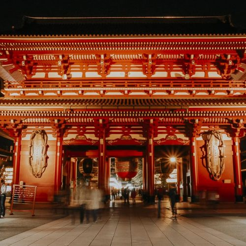 Tokio bei Nacht - 5 tolle Foto-Spots