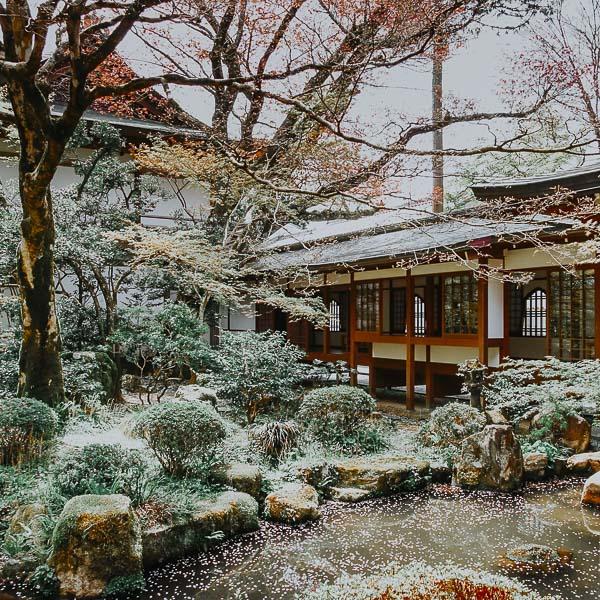 Shuheki-en Garden des Sanzen-in Tempels