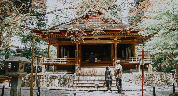 Amida Hall im Sanzen-in Tempel