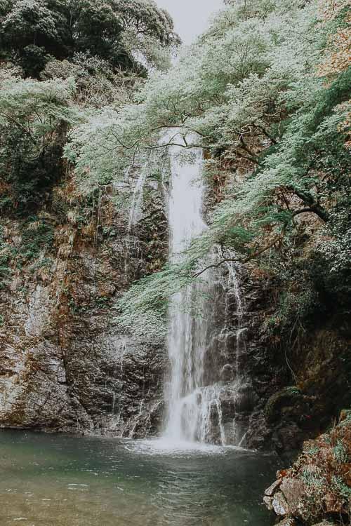 Japan off the beaten track - Minoh Waterfall