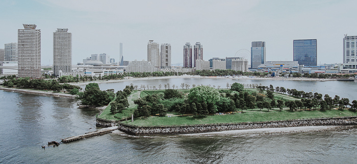 Daiba Park in Tokio Japan - Off the beaten Track - Open your Wings