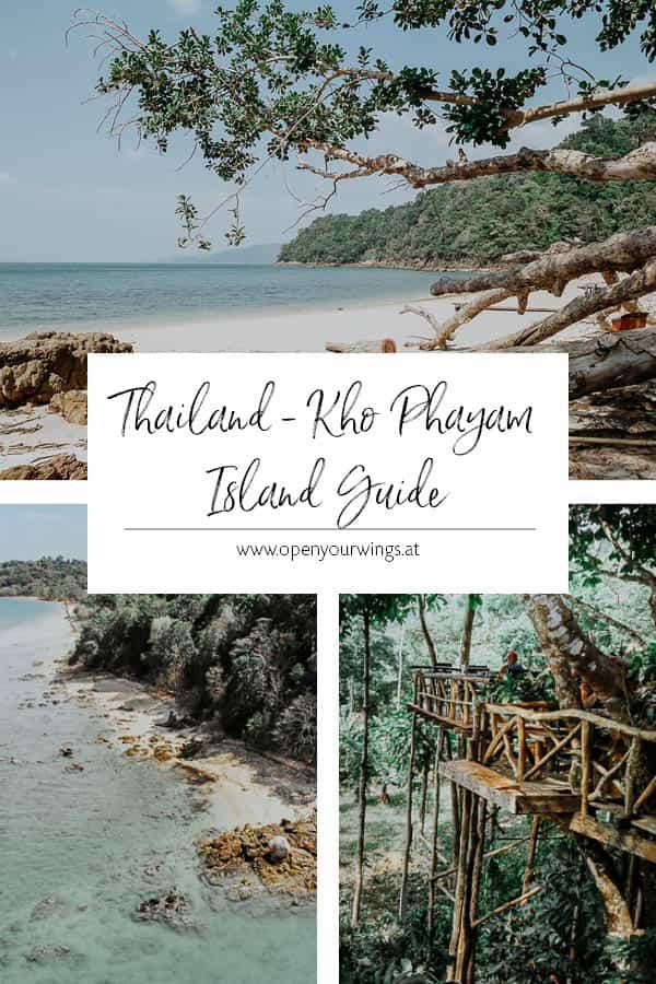 THAILAND - Kho Phayam Island Guide
