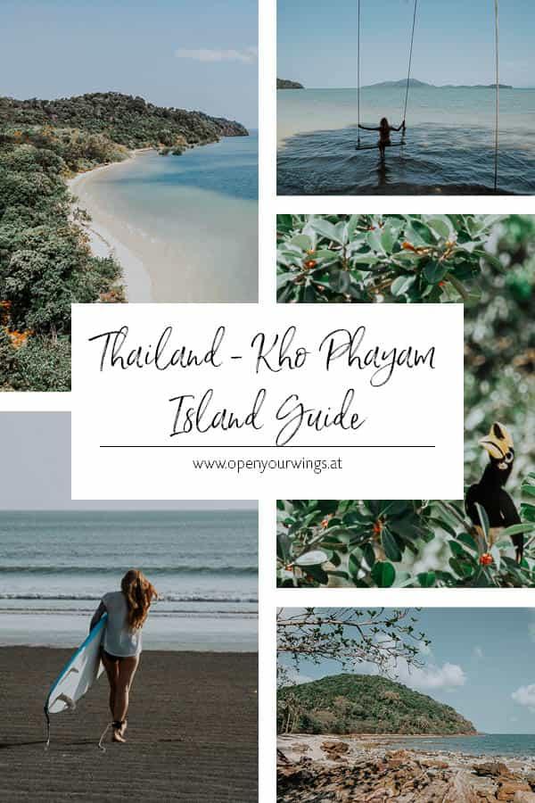 Pin it! THAILAND - Kho Phayam Island Guide