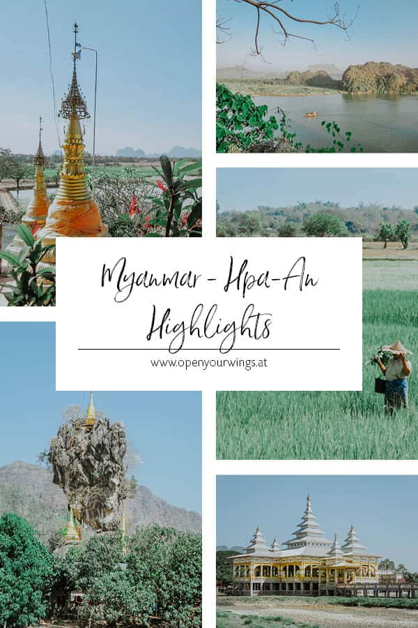 Pin it! MYANMAR - Hpa-An Highlights